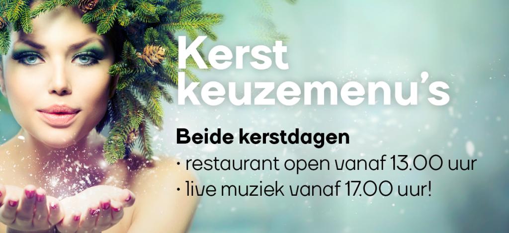 Kerst keuzemenu restaurant Het Meer